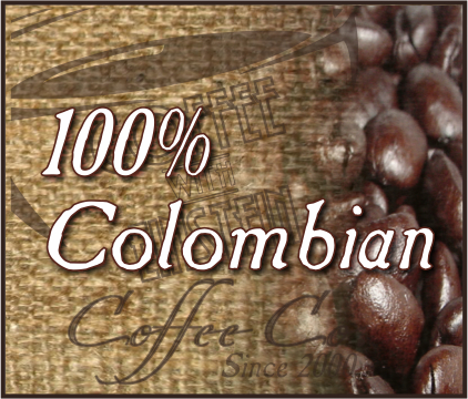 Colombian Supremo Premium Coffee (1 to 5 lb. Bags)