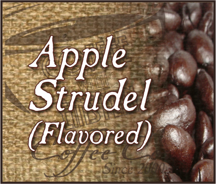 APPLE STRUDEL Flavored Coffee - QTY 24-2oz bags