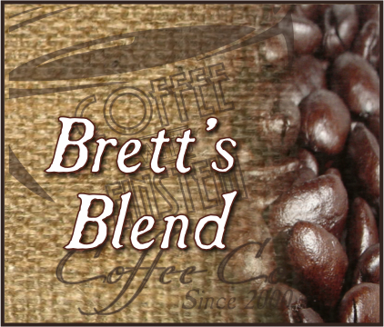 Brett's Premium Coffee Blend (1 to 5 lb. Bags)
