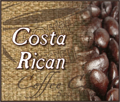 Costa Rican Premium Coffee (1 to 5 lb. Bags)