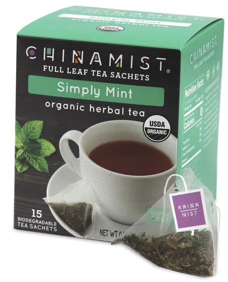 Simply Mint Organic Herbal Tea Sachets (15-ct.)